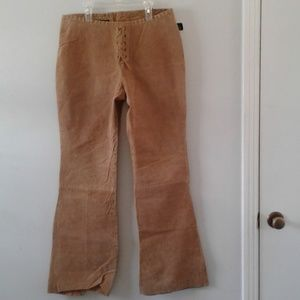 Pants - New with tags! Genuine leather hippie bell bottoms